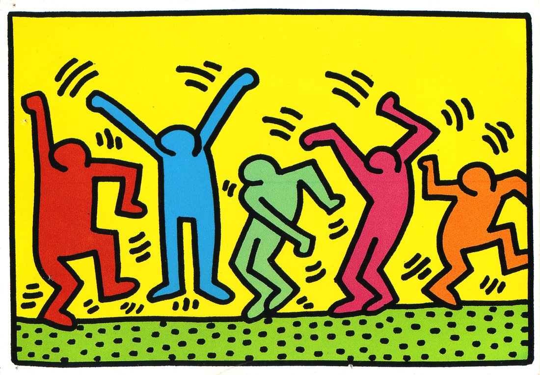 keith haring figure templates.html